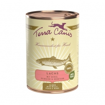 Terra Canis Dose classic Lachs 400 g  (Menge: 12 je Bestelleinheit)