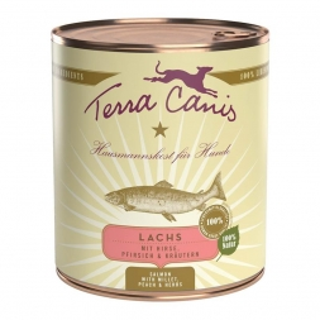 Terra Canis Dose classic Lachs 800 g  (Menge: 6 je Bestelleinheit)