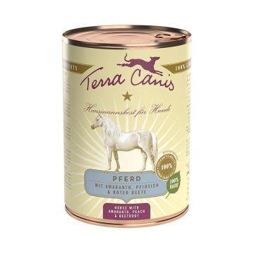 Terra Canis Dose classic Pferd 400 g (Menge: 12 je Bestelleinheit)