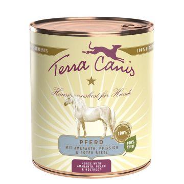 Terra Canis Dose classic Pferd 800 g (Menge: 6 je Bestelleinheit)