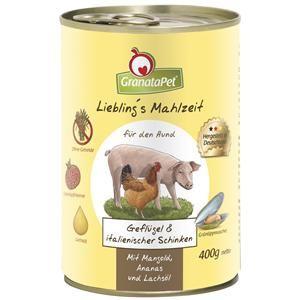 GranataPet Lieblings Mahlzeit Geflügel & italienischer Schinken 400g (Menge: 6 je Bestelleinheit)