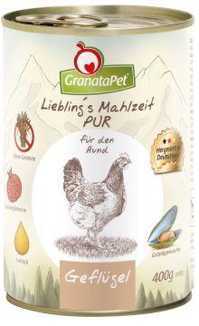 GranataPet Lieblings Mahlzeit Geflügel PUR 400g (Menge: 6 je Bestelleinheit)