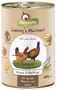 GranataPet Lieblings Mahlzeit Fasan & Geflügel 400g (Menge: 6 je Bestelleinheit)
