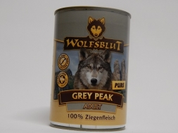 Wolfsblut Dose Grey Peak PURE 395g (Menge: 6 je Bestelleinheit)