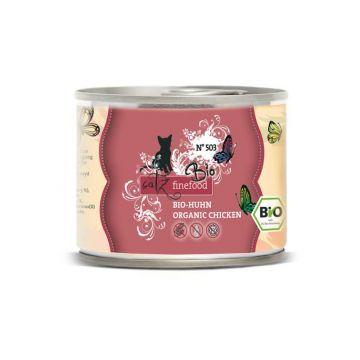 Catz finefood Dose Bio No. 503 Huhn 200g (Menge: 6 je Bestelleinheit)