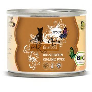 Catz finefood Dose Bio No. 509 Schwein 200g (Menge: 6 je Bestelleinheit)