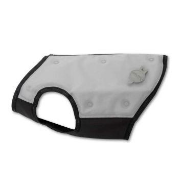 canicool Kühlweste für Hunde silber-grau S