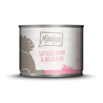 MjAMjAM - saftiges Huhn & Wildlachs 200 g (Menge: 6 je Bestelleinheit)