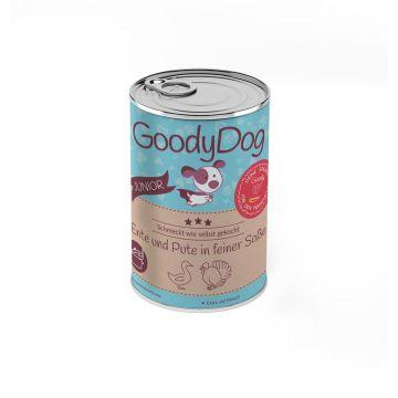 Goody Dog Junior Ente & Pute in feiner Sauce 380g (Menge: 12 je Bestelleinheit)