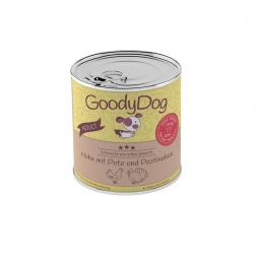 Goody Dog Adult Huhn mit Pute & Pastinaken 800g (Menge: 6 je Bestelleinheit)