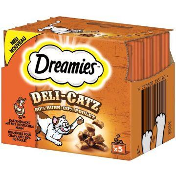 Dreamies Deli Catz mit Huhn 25g (Menge: 8 je Bestelleinheit)