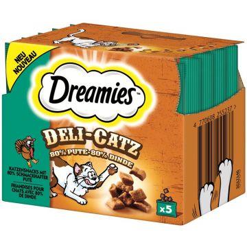 Dreamies Deli Catz mit Pute 25g (Menge: 8 je Bestelleinheit)