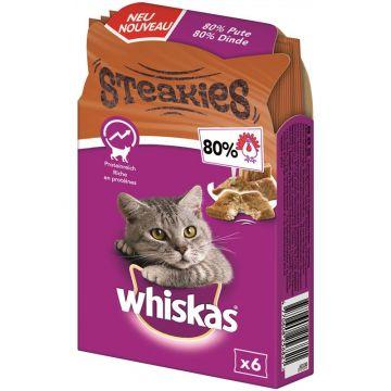 Whiskas Snack Steakies Pute 30g (Menge: 6 je Bestelleinheit)