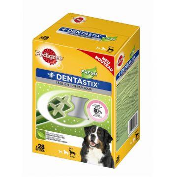Pedigree Snack Denta Stix Fresh Multipack große Hunde 4x7Stück (Menge: 4 je Bestelleinheit)