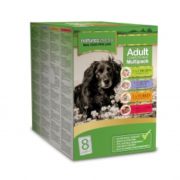 Natures Menu Dog Frischebeutel Multipack 8x300g