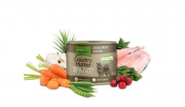 Country Hunter Dog Dose 80% Kaninchen 600g (Menge: 6 je Bestelleinheit)