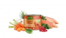 Country Hunter Dog Dose 80% Lachs & Huhn 600g (Menge: 6 je Bestelleinheit)
