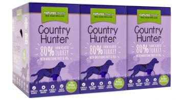 Country Hunter Dog Frischebeutel 80% Pute 150g (Menge: 6 je Bestelleinheit)