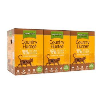 Country Hunter Cat Frischebeutel mit 96% Freilandhuhn 85g (Menge: 6 je Bestelleinheit)