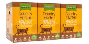 Country Hunter Cat Frischebeutel 96% Freilandhuhn 85g (Menge: 6 je Bestelleinheit)