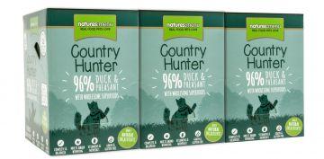 Country Hunter Cat Frischebeutel 96% Ente & Fasan 85g (Menge: 6 je Bestelleinheit)