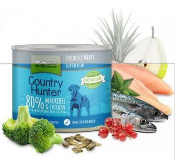 Country Hunter Dog Dose 80 % Makrele & Huhn 600g (Menge: 6 je Bestelleinheit)