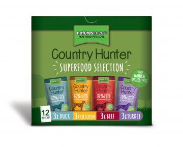 Country Hunter Dog Frischebeutel 12x150g
