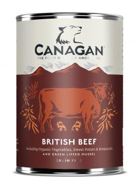 Canagan Dose British Beef 400 g (Menge: 6 je Bestelleinheit)