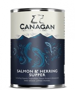 Canagan Dose Salmon & Herring Supper 400 g  (Menge: 6 je Bestelleinheit)