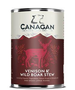 Canagan Dose Venision & Wild Boar Stew 400 g  (Menge: 6 je Bestelleinheit)