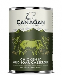 Canagan Dose Chicken & Wild Boar Casserole 400 g  (Menge: 6 je Bestelleinheit)