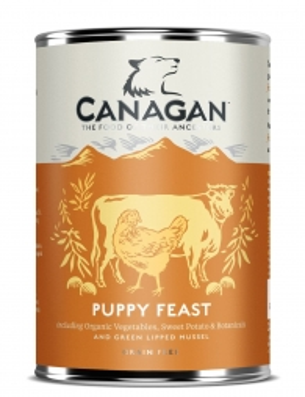 Canagan Dose Puppy Feast 400g (Menge: 6 je Bestelleinheit)