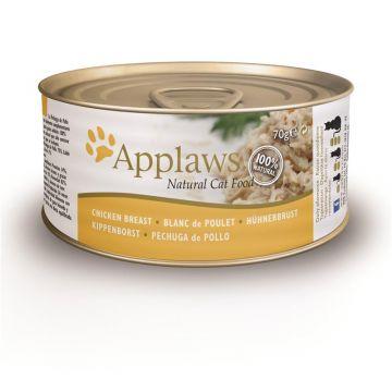 Applaws Cat  Nassfutter Dose mit Hühnchenbrust 70 g (Menge: 24 je Bestelleinheit)