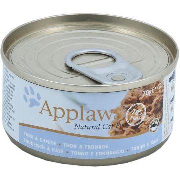 Applaws Cat Nassfutter Dose Thunfischfilets & Käse 70 g (Menge: 24 je Bestelleinheit)