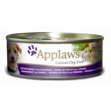 Applaws Dog Nassfutter Dose Huhn, Gemüse & Reis 156 g (Menge: 12 je Bestelleinheit)