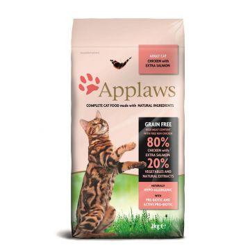 Applaws Cat Trockenfutter mit Hühnchen & Lachs 2kg
