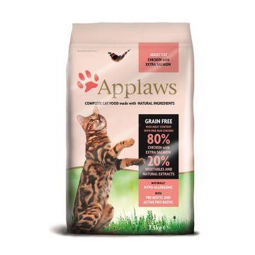 Applaws Cat Trockenfutter mit Hühnchen & Lachs 7,5 kg
