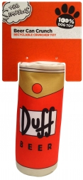 The Simpsons Duff Beer Can Crunch