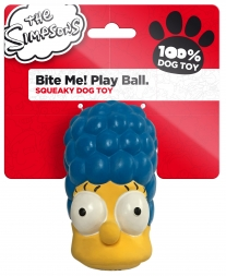 The Simpsons Latex Bite Me! Play Ball Marge