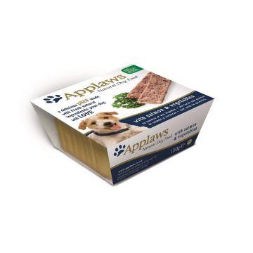 Applaws Dog Nassfutter Schale Pate mit Lachs & Gemüse 150 g (Menge: 7 je Bestelleinheit)