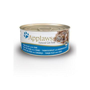 Applaws Cat Nassfutter Dose Thunfisch & Krabben 70 g (Menge: 24 je Bestelleinheit)