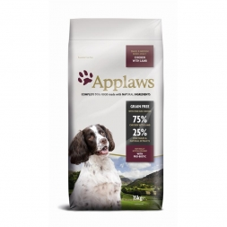 Applaws Dog Trockenfutter Adult Small & Medium mit Huhn & Lamm 15 kg