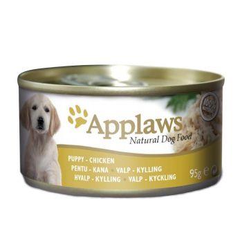 Applaws Dog Nassfutter Dose für Welpen mit Hühnchen 95 g (Menge: 12 je Bestelleinheit)