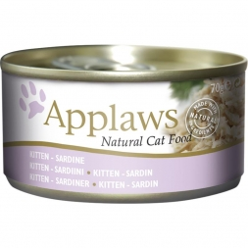 Applaws Cat Nassfutter Dose Junge Katzen Sardine 70 g (Menge: 24 je Bestelleinheit)