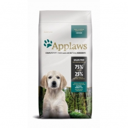 Applaws Dog Trockenfutter Puppy Small & Medium Breed mit Huhn 15 kg