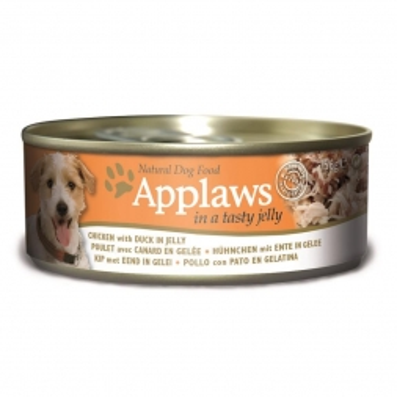 Applaws Dog Nassfutter Dose Hühnchenbrust & Ente in Gelee 156 g (Menge: 12 je Bestelleinheit)