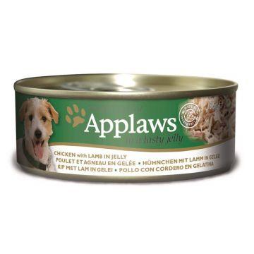 Applaws Dog Nassfutter Dose Hühnchenbrust & Lamm in Gelee 156 g (Menge: 12 je Bestelleinheit)