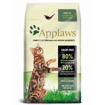 Applaws Cat Trockenfutter Hühnchen mit Lamm 400 g