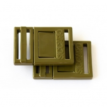 SICCARO ClickLock Ersatz Verschluss-Set grün