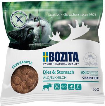 Bozita Cat Diet & Stomach Grainfree mit Elch 50g
